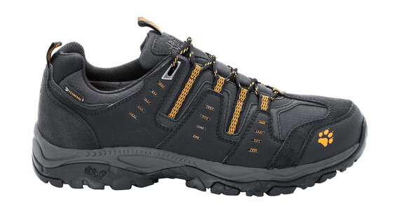 Jack Wolfskin MTN Storm Texapore Low Hiking Shoes Men burly yellow